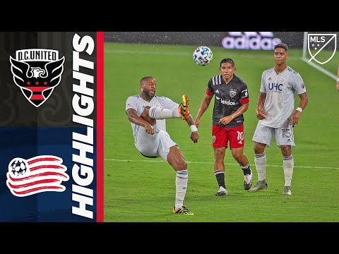 DC United New England Goals And Highlights