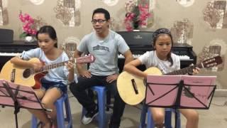 Lớp Guitar Thiếu Nhi Tại Bình Dương