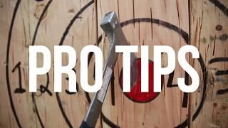 Pro tips: How to throw an axe