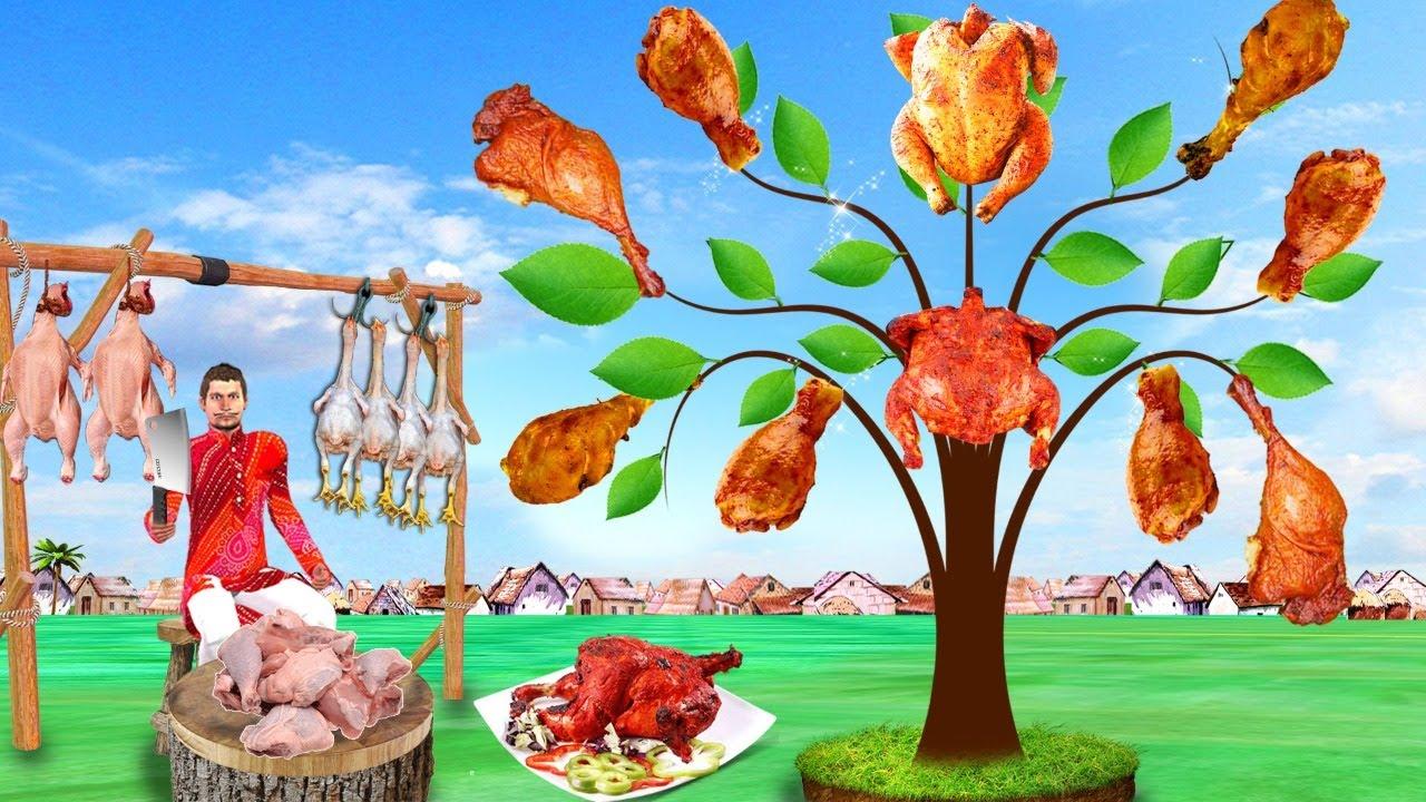 Download जादुई मुर्गी का पेड़ Magical Chicken Tree Comedy Video हिंदी कहानिया Hindi Kahaniya Comedy Video