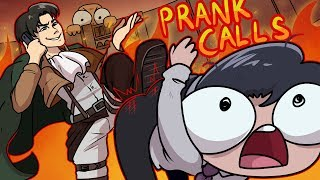 Levi Prank Calls Microsoft Scammers ANIMATED!