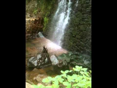 Secret Waterfall Bucks County, Pennsylvania.