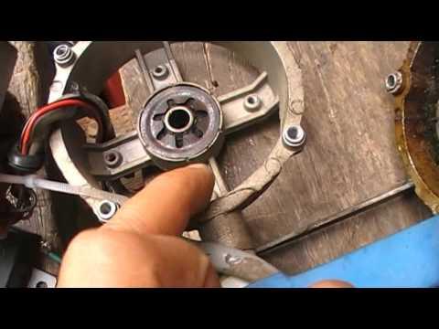 วิธีการซ่อมพัดลม (ปฏิบัติ 3 ) เปลี่ยนบูชหน้า - หลัง