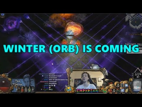 poe stream highlights 267 winter orb is coming. Black Bedroom Furniture Sets. Home Design Ideas