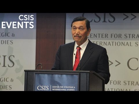 The CSIS-Pertamina Banyan Tree Leadership Forum with Luhut Binsar Pandjaitan