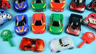 13 MeCard Cars 터닝메카드 장난감 Turning MeCard card transforming car toys