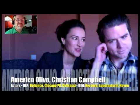 She's Maniac; he's Big Love; America Olivo, Christian Campbell!
