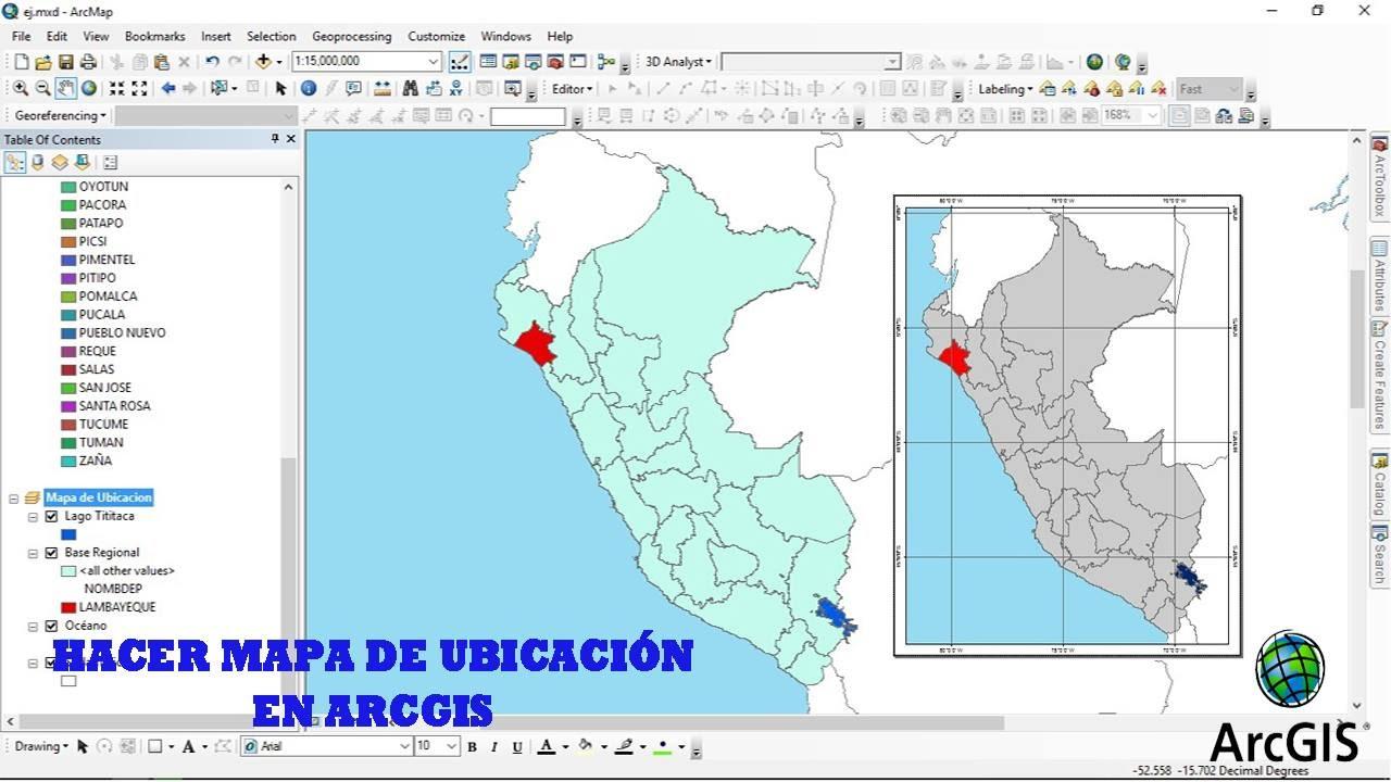 Curso de arcgis 10 3 1 clase n 12 hacer un mapa de for Plano de un vivero forestal