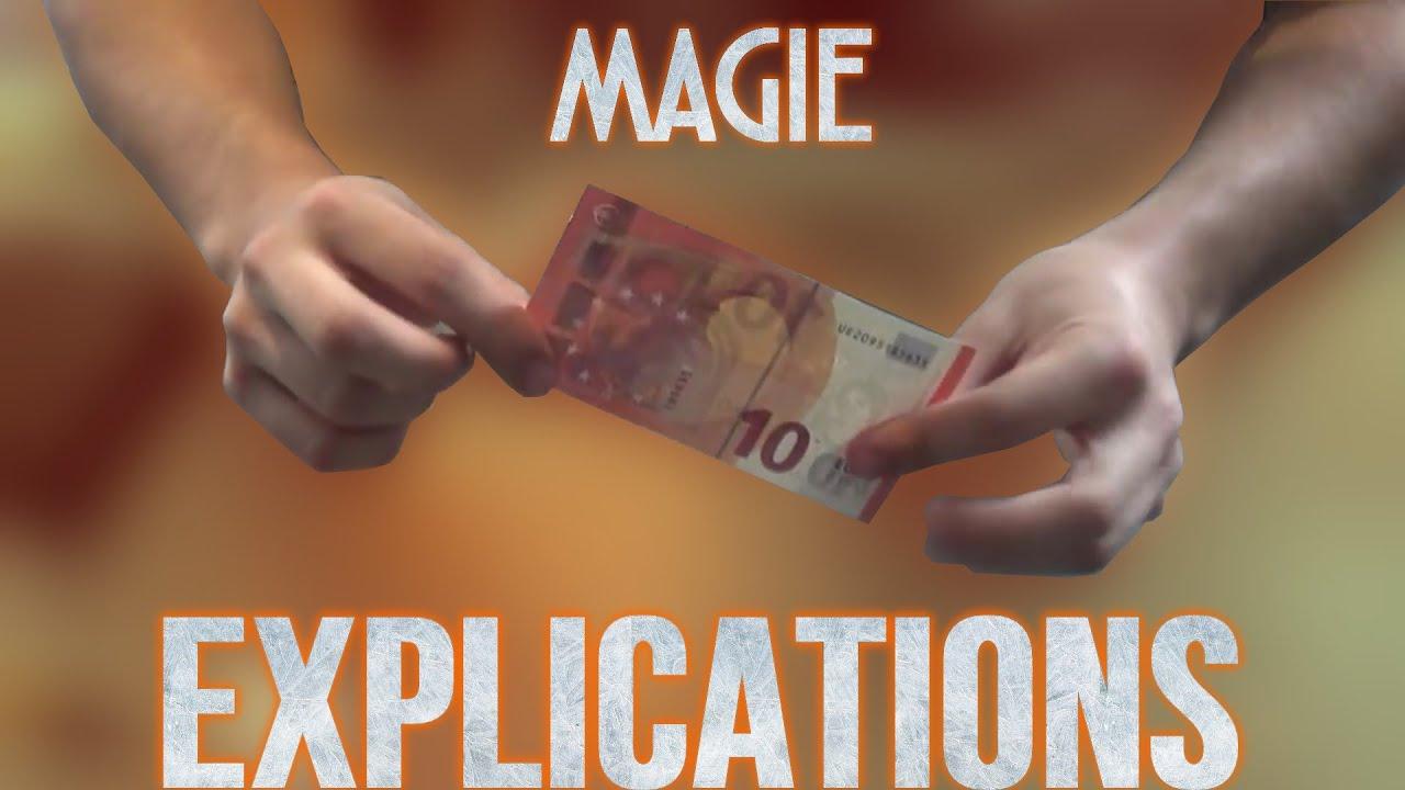 tour de magie facile papier