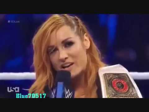WWE Becky Lynch Tribute To Johnny Cash's When The Man Comes Around