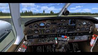 PIPER PA34 SENECA TUTORIAL 2 PART  HOW FLY A REAL PIPER-COMO VOLAR UN SENECA