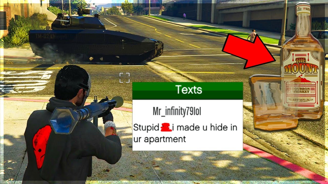 I Found A Genius Way To Counter Tank Spawn Trappers on GTA 5 Online