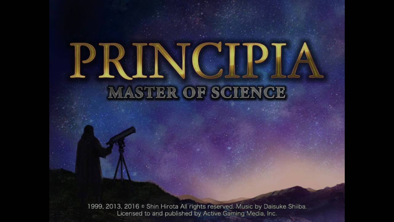 Principia: master of science experiments
