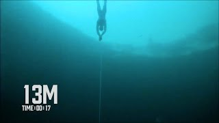 Steinlager CNF World Record Freedive 102m