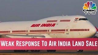 Weak Response To Air India Land Sale