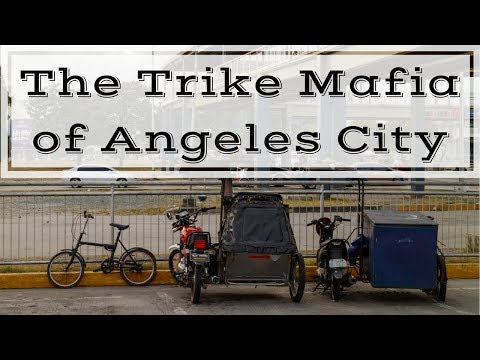 Transportation in Angeles City - The Trike and Taxi Mafia