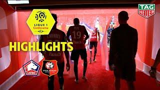 LOSC - Stade Rennais FC ( 3-1 ) - Highlights - (LOSC - SRFC) / 2018-19