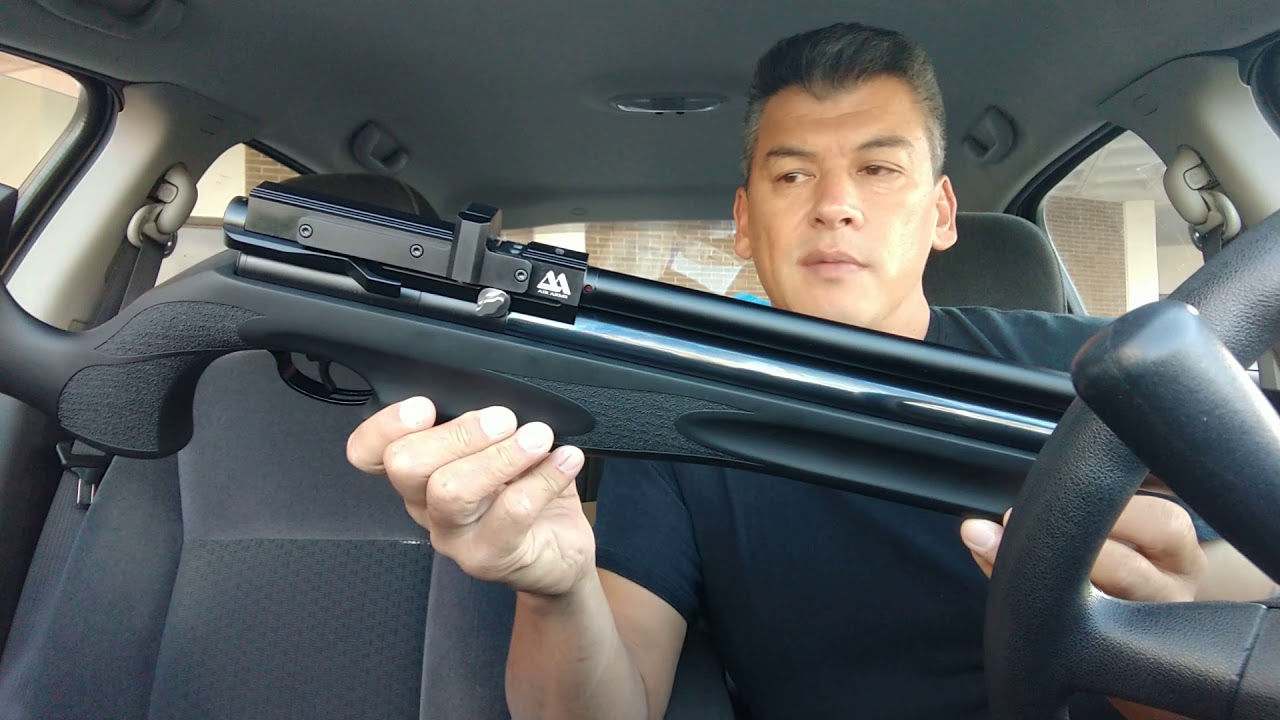 First look at my new AA S510 XS Ultimate Sporter 22 - Airgun