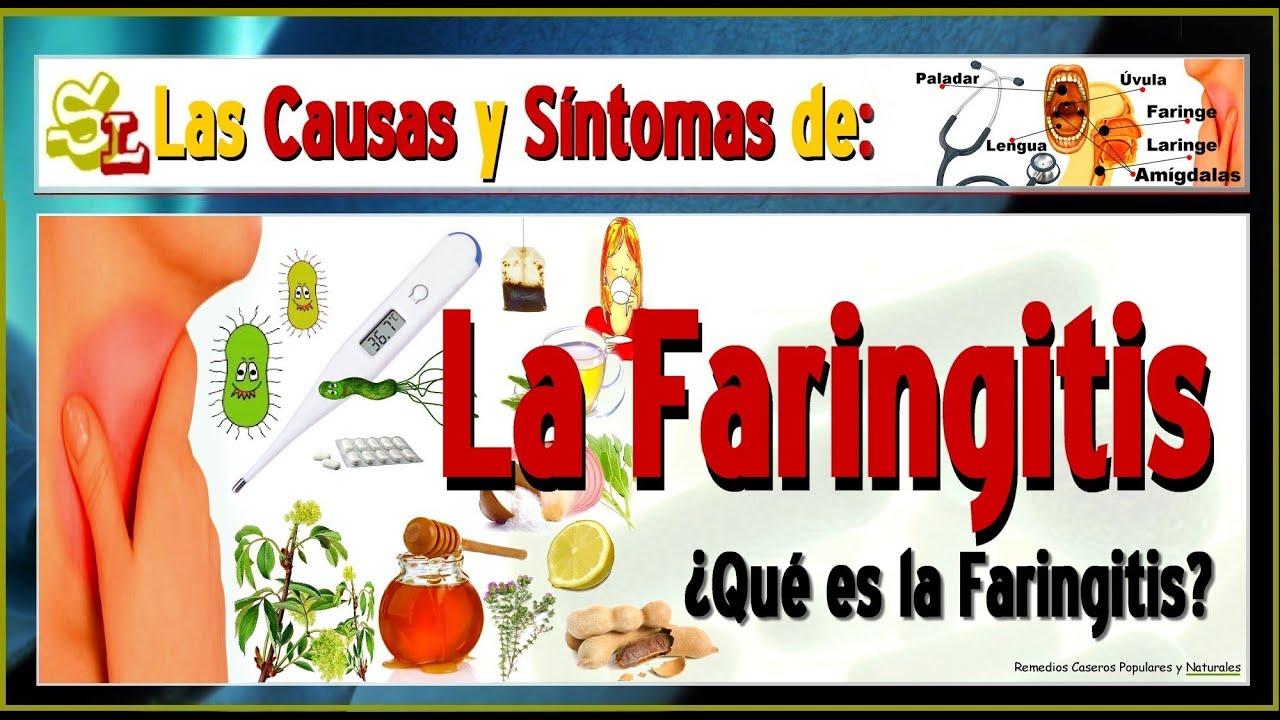 Faringitis remedios caseros naturales
