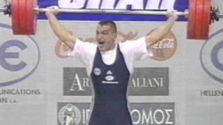 Πύρρος Δήμας   Παγκόσμιο Αθήνας 1999   Χρυσό μετάλλιο