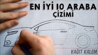 En İyi 10 Araba Çizimi   KAĞIT KALEM