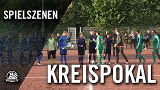 SC 1920 Oberhausen - DJK Arminia Klosterhardt (Halbfinale, Kreispokal Oberhausen) - Spielszenen