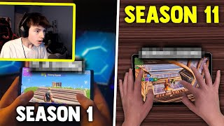 REACTING to the BEST Mobile Players from Season 1 to Season 11...