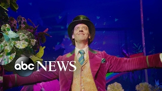 Behind the scenes of 'Charlie and the Chocolate Factory' on Broadway