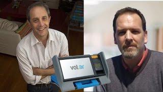 Entrevista de Ernesto Tenembaum sobre el voto electrónico en la CABA