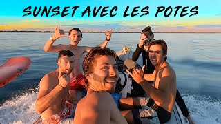 SESSION SUNSET ENTRE POTES (foil, skim avec Julien Fabro)