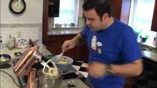 Chocolate Chip Cookie Cake - George Duran (dishanddine Cookbook Author Series)