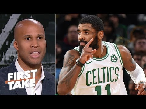 Celtics cannot win the NBA championship without Kyrie Irving - Richard Jefferson  | First Take
