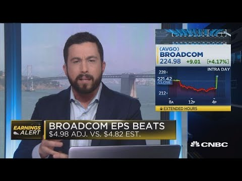 Broadcom third quarter earnings
