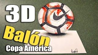 Balón 3D Copa America Centenario 2016