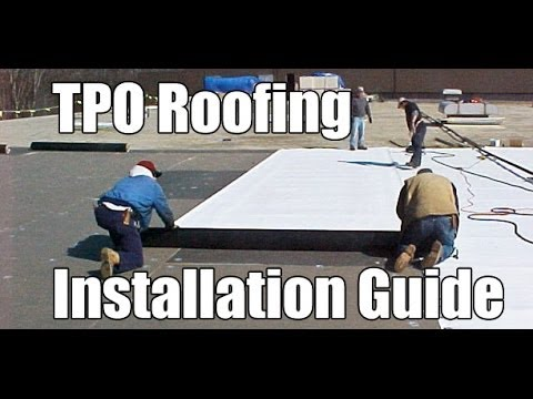 Quot How To Install Tpo Roofing Quot By Roofrepair101 Youtube