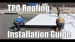 """How to Install TPO Roofing"" by RoofRepair101"