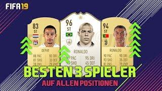 BESTEN 3 SPIELER AUF ALLEN POSITIONEN! GÜNSTIG + TEUER! FIFA 19 ULTIMATE TEAM | SERKAN ISAK