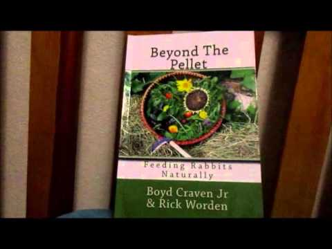 Rabbit Book Review--Beyond the Pellet:  Feeding Rabbits Naturally