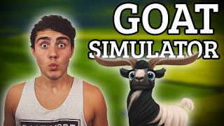 THE BEST GAME EVER! | Goat Simulator