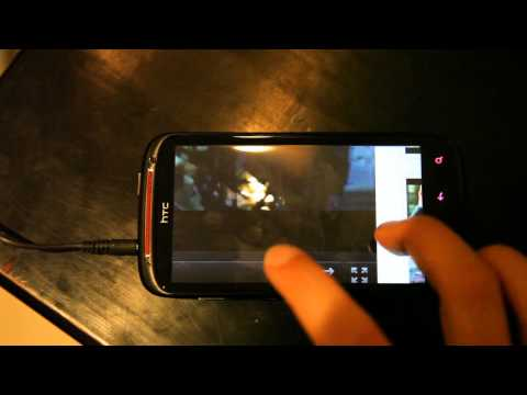 HTC Sensation XE Flash video playback