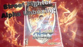 Street Fighter Alpha Anthology Unboxing! (Ps2)