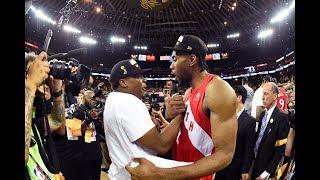 Kawhi Leonard Texted Kyle Lowry After The DeMar DeRozan Trade | NBA Finals