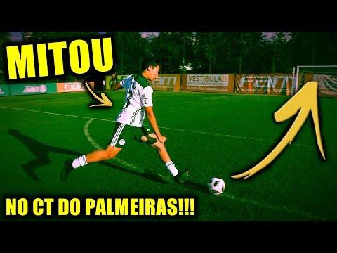 MELHOR DESAFIO DA MINHA VIDA NO CT DO PALMEIRAS!!!