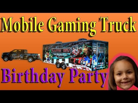 Mobile Gaming Truck Birthday Party
