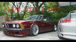 BMW 635csi E24 Restoration- was it worth it?