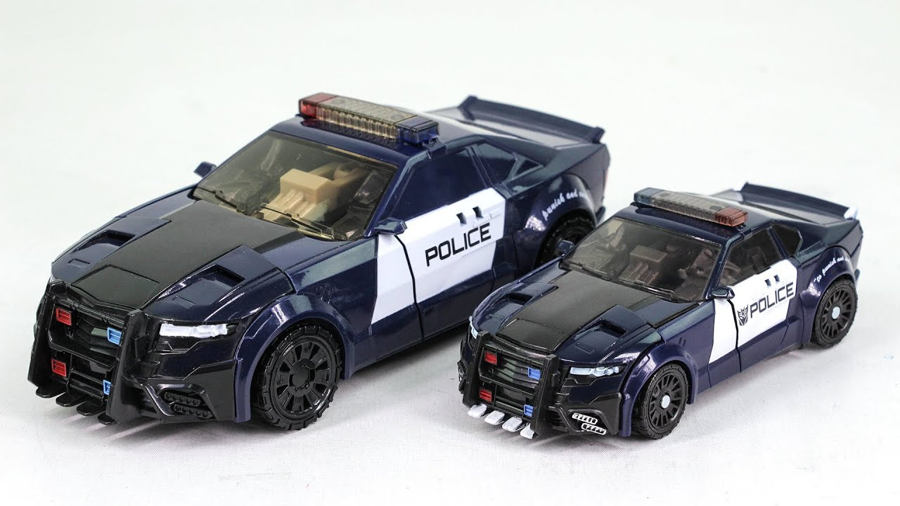 Barricade Vehicle Tractors : Transformers movie the last knight ko oversized