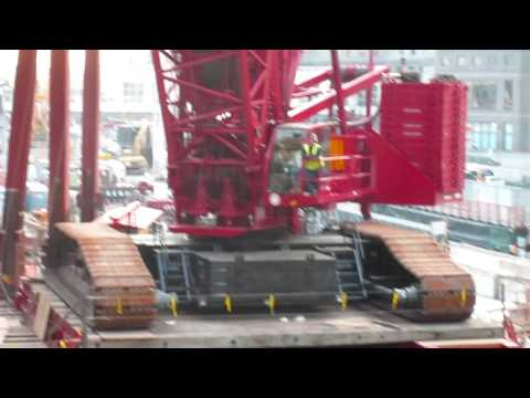 Manitowoc 18000 Swinging Steel