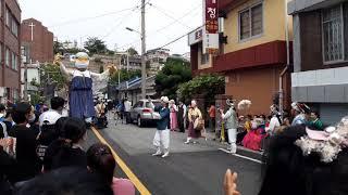 흥겨운~ 목포시내 길거리 전통공연!