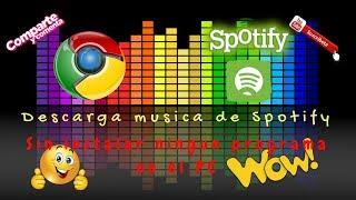 Descargar musica spotify sin premium