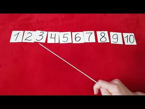 Видеоурок по математике в детском саду